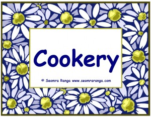 Our Cookery Lessons