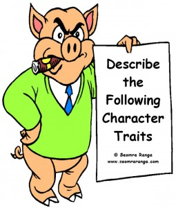 Describing Characters | Seomra Ranga
