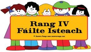 Classroom Door Sign – Rang V