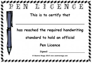 Pen Licence