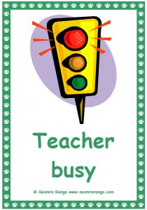 Teacher Traffic Lights