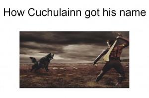 How Cuchulainn Got His Name