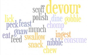 """Eat"" Wordle"