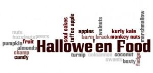 Hallowe'en Food Wordle