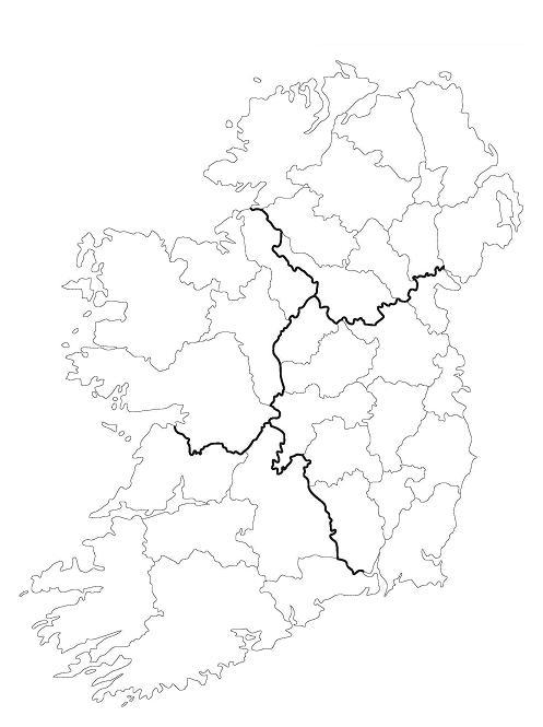 Blank Map Of Ireland 32 Counties.Blank Map Of Ireland 32 Counties Twitterleesclub