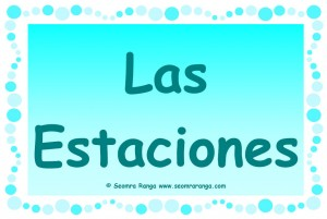So Easy Spanish!: The four seasons in Spanish