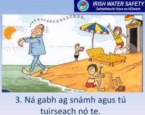 Swimming Safety Gaeilge