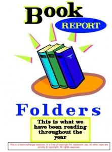 Book Report Folders