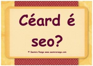 Céard É Seo?