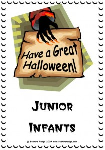 Hallowe'en Door Sign 3