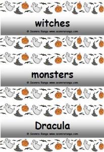 Hallowe'en Creatures