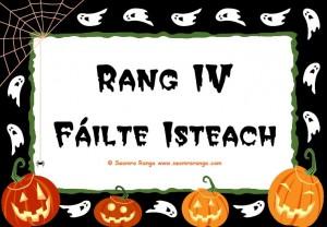 Hallowe'en Door Sign 6