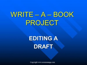Editing a Draft