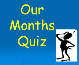 Months of the Year Quiz