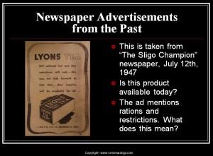 Newspaper Advertisements 01