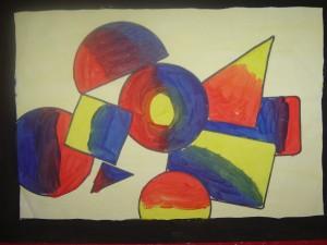 Primary Colour Art