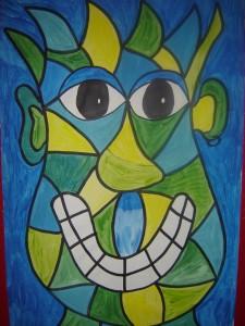 Picasso Portrait 02