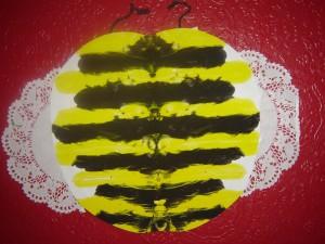 Symmetrical Bumble Bee