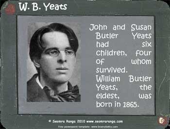 W. B. Yeats Powerpoint