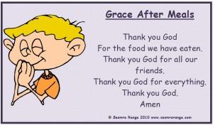 Grace After Meals