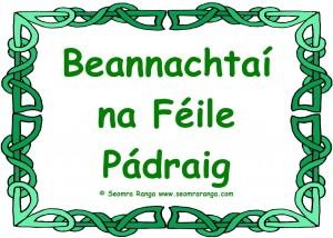 Beannachtaí na Féile Pádraig 01
