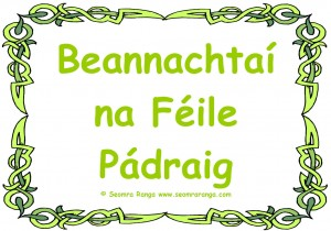 Beannachtaí na Féile Pádraig