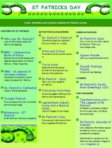 St. Patrick's Themepage