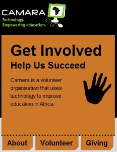 Volunteer With Camara