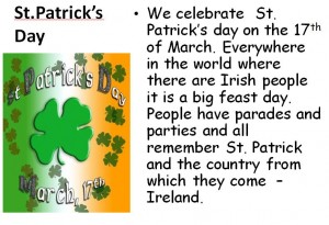 st. patrick day. john m. morehead high school. esl i mr. lanza., Powerpoint templates