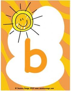 Summer Alphabet Small