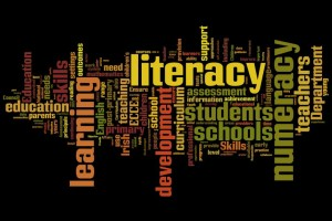 Literacy and Numeracy Wordle