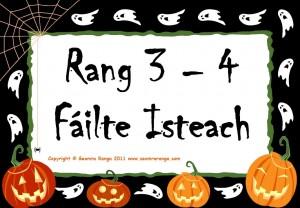 Hallowe'en Door Signs 07