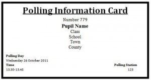 Polling Information Card