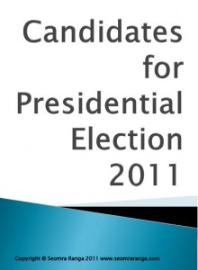 Presidential Election Candidates 2011