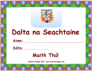Dalta na Seachtaine
