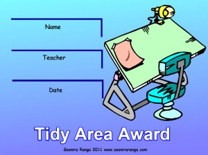 Tidy Area Award