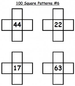 100 Square Pattern 06