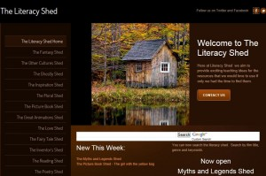 Image result for literacy shed
