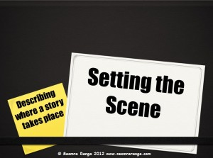 Setting the Scene for Writing