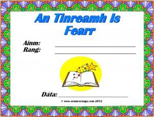 An Tinreamh is Fearr