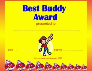 Best Buddy Award