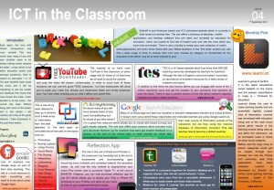 ICT in the Classroom eBulletin – Issue 4