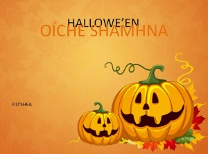hallowe en seomra ranga