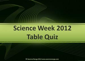 Science week table quiz junior seomra ranga for Table quiz rounds