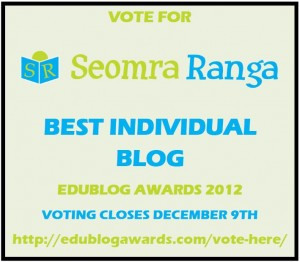 Edublog Awards Poster