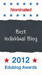 Seomra Ranga a Finalist in Edublog Awards