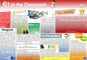 ICT in the Classroom eBulletin – Issue 7