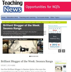 """Brilliant Blogger of the Week"""