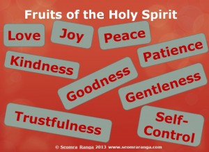 Fruits of the Holy Spirit