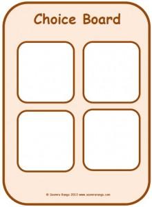 Choice Board 01